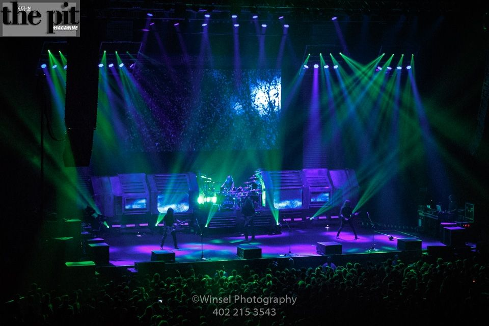 The Pit Magazine, Winsel Concertography, Megadeth, Dystopia World Tour 2016, Mid-America Center, Council Bluffs, Iowa
