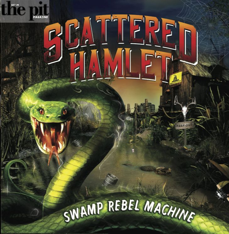 The Pit Magazine, Bass Cleff Designs, Scattered Hamlet, Swamp Rebel Machine, New Ocean Media
