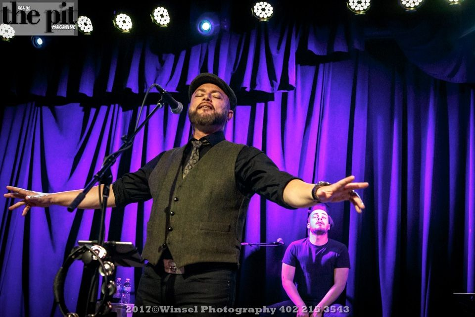 The Pit Magazine, Winsel Photography, Winsel Concertography, Geoff Tate, The Whole Story, Waiting Room, Omaha, Nebraska