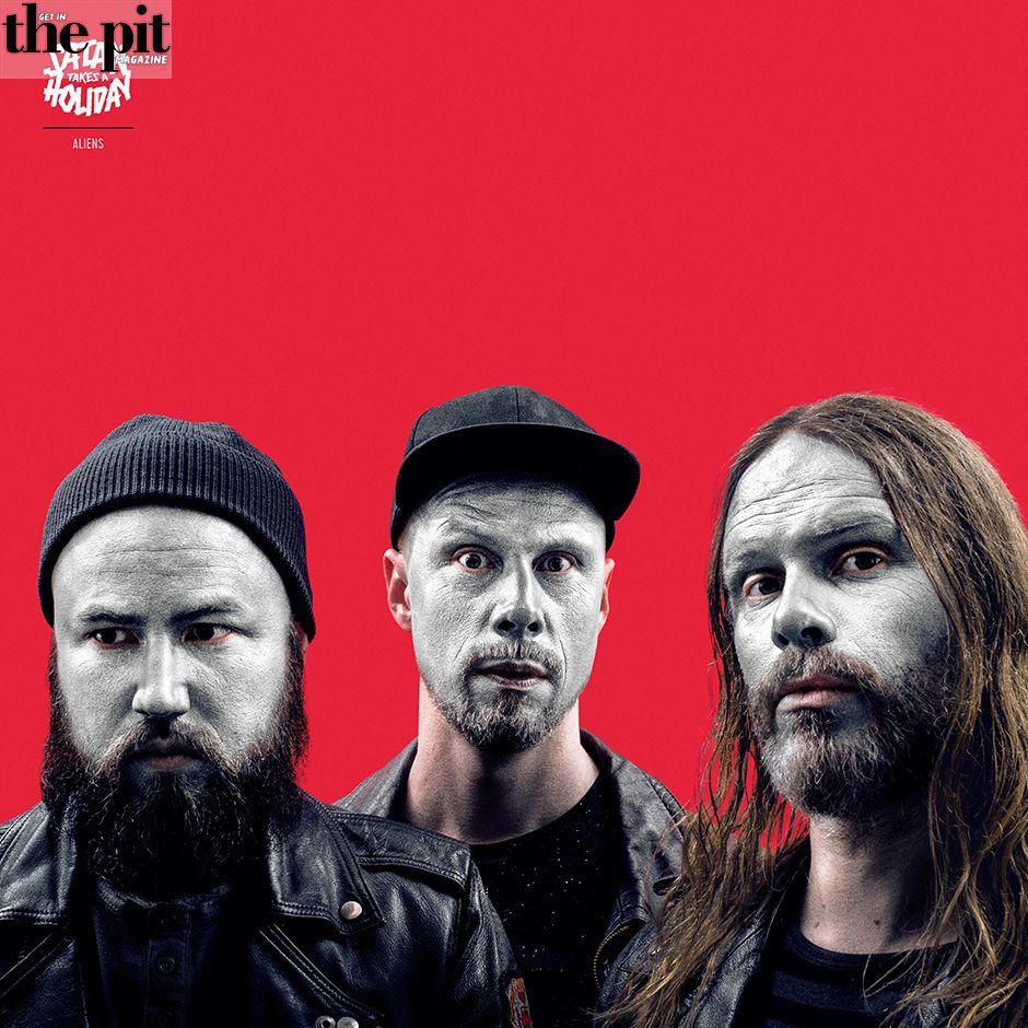 The Pit Magazine, Satan Takes a Holiday, Aliens, Despotz Records