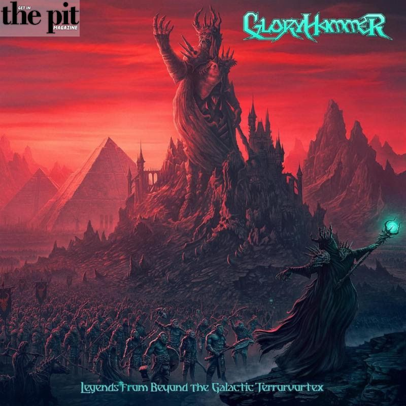 The Pit Magazine, GloryHammer, Record Release, Video Release, New Music, Napalm Records