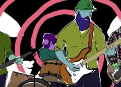 "BLACK ELEPHANT Premieres ""Yayoi Kusama"" Tribute Video From Italian Psychedelic Fuzz Rock Outfit"